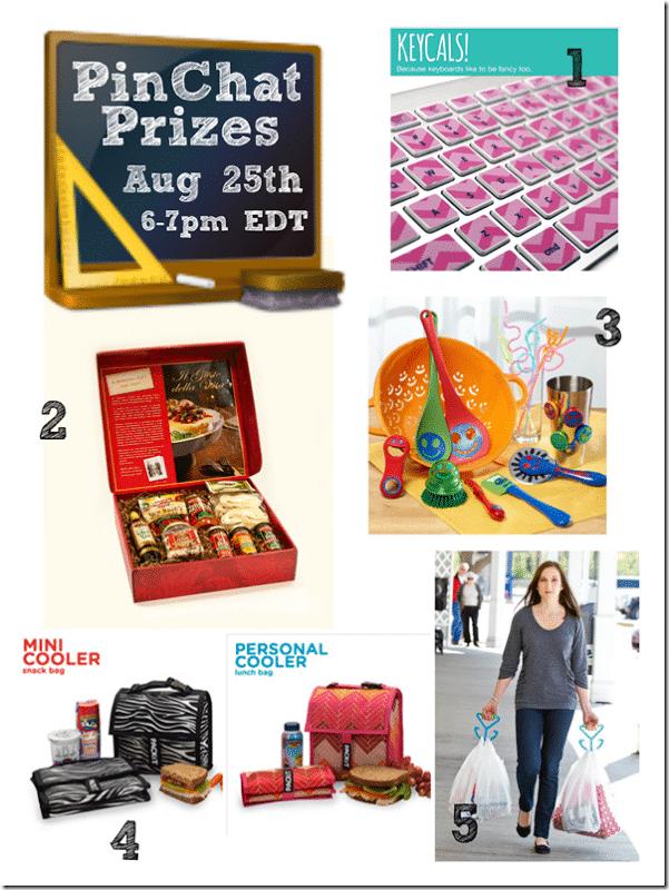 PinChat Prizes www.settingforfour.com