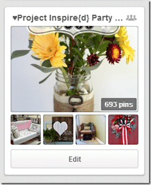 Project Inspire{d} Group Pinboard