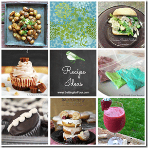 Recipe Ideas from Setting for Four #recipe #dish #dinner#dessert