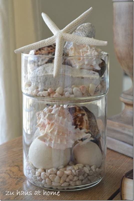 15 summer craft and diy ideas for the home setting for 4 Diy home decor with shells