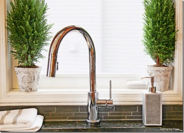 See the Elegant features of this hands-free Trinsic faucet