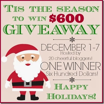 Tis the Season to Win $600 Giveaway at Setting for Four