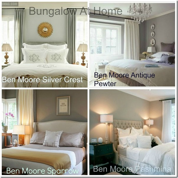 top 4 benjamin moore bedroom paint colors