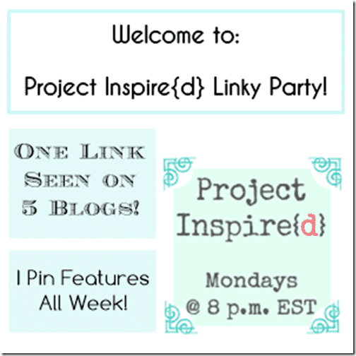 Project Inspired Linky Party at Setting for Four