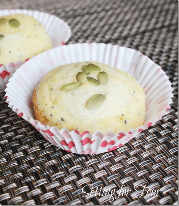 Easy  poppyseed corn muffin recipe. Make in 10 minutes or less!