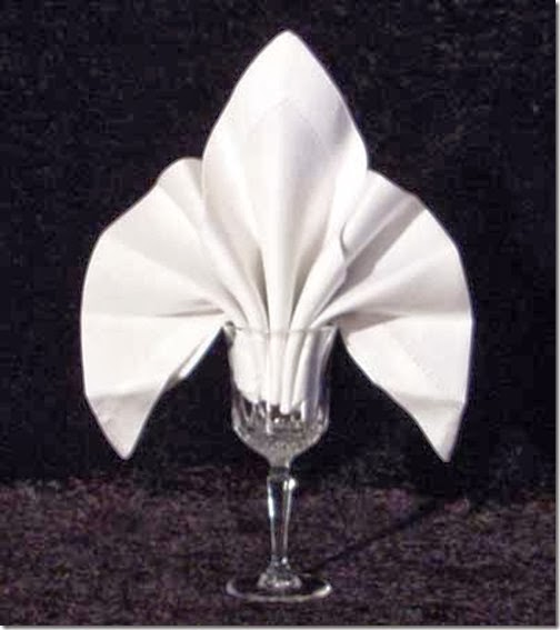 Folding Table Napkins : fold from napkin folding guide i personally love the classic look of ...