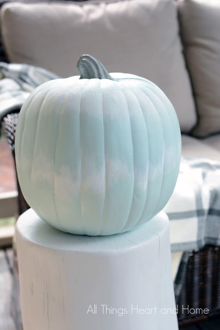 DIY Ikat Pumpkin