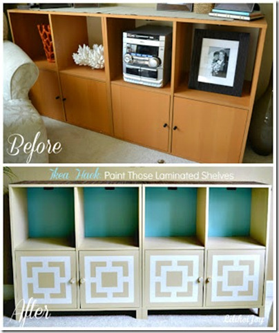 ikea hack before after collage text