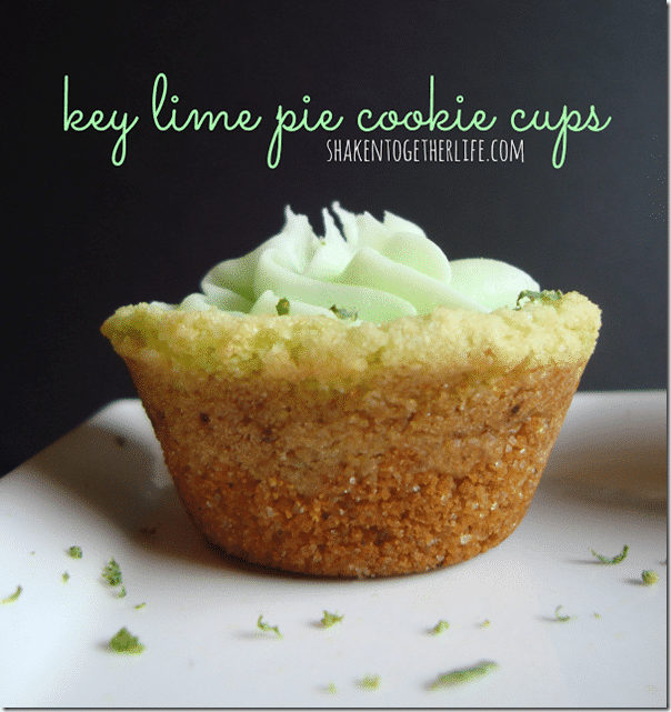 key lime pie cookie cups 2