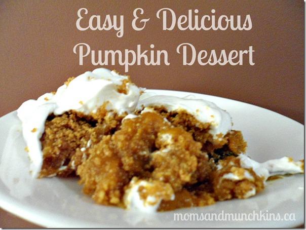 pumpkin-dessert