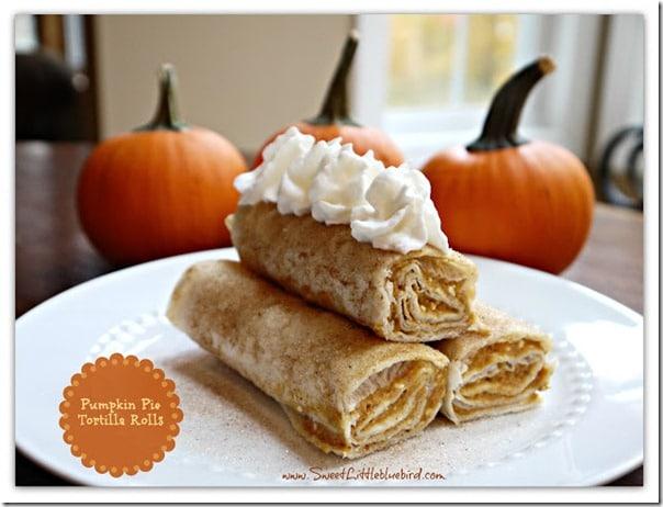 pumpkin tortilla rolls 6