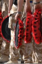 Today We Remember the Poppies That Blow Between the Crosses Row on Row.
