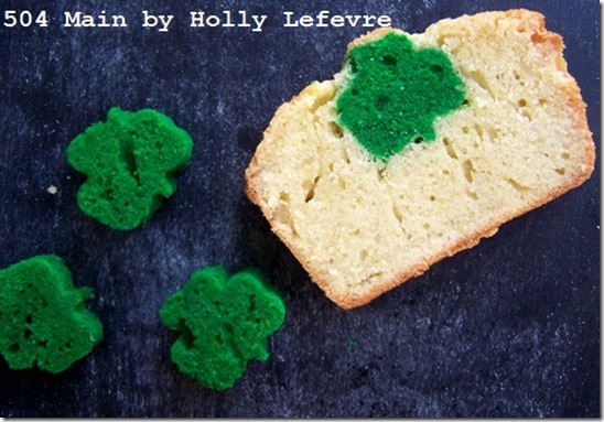 shamrock surprise pound cake recipe