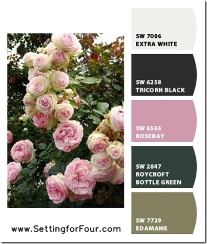 Pink Paint Color Ideas using Sherwin Williams Chip It! from Setting for Four.  Get the skinny here! https://www.settingforfour.com/2013/02/color-palette-pink.html #pink #paint #palette #sherwinwilliams