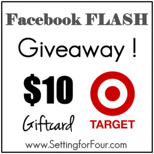 Enter to win a 10$ target Giftcard!