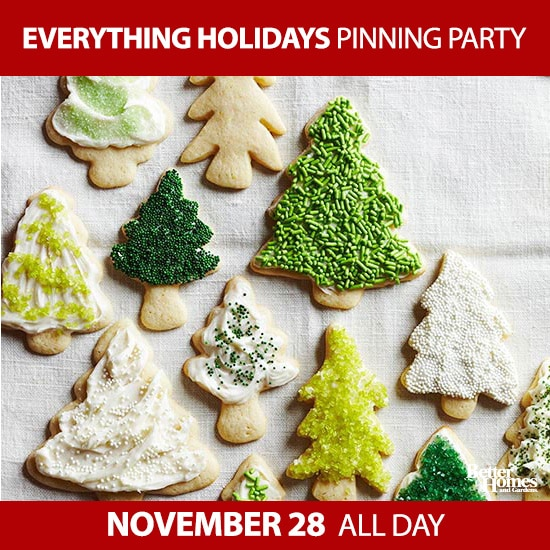 Everything Holidays Pinning Party - Follow along!