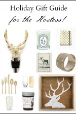 Christmas Holiday Gift Guide for the Hostess! 10 gift ideas she will love to get! www.settingforfour.com