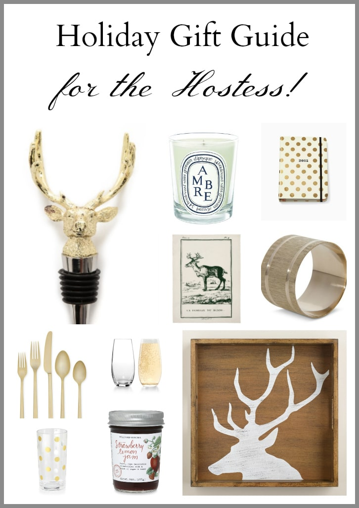 Get some fabulous gift ideas in this Christmas Holiday Gift Guide for the Hostess! 10 beautiful gift ideas any hostess will love to get!