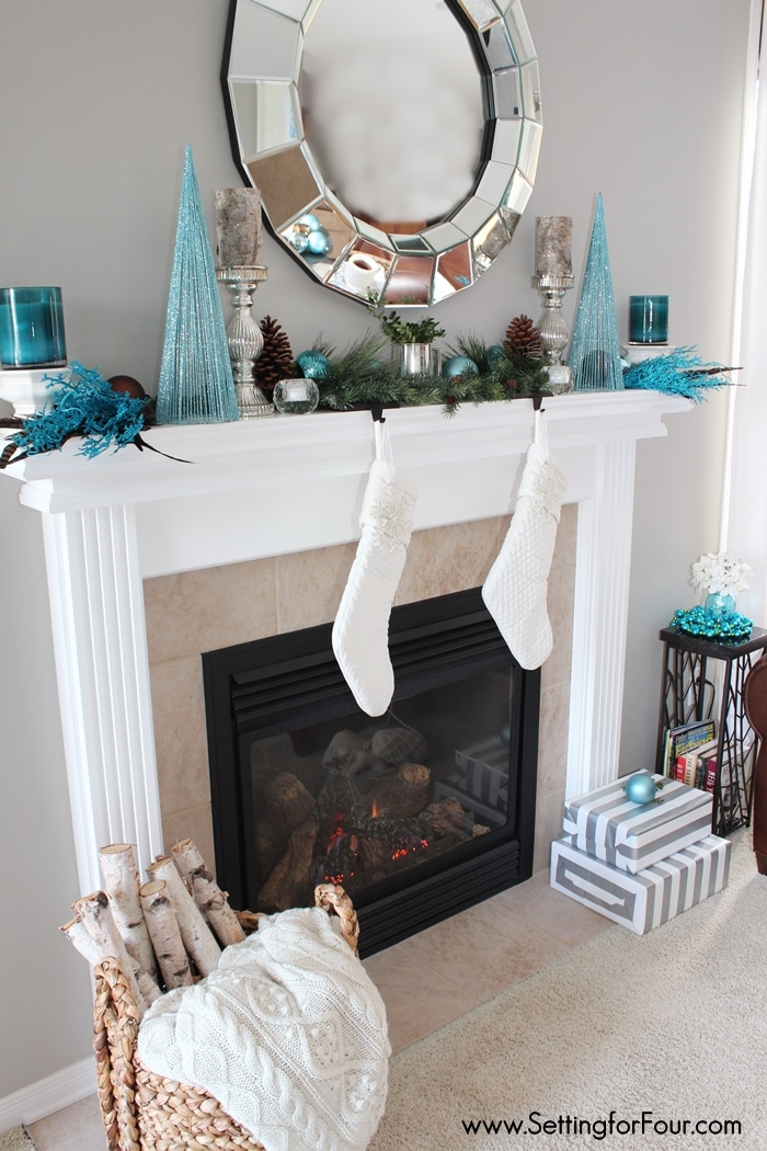 Christmas Decorations  Fireplace Garland