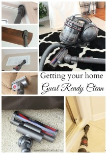 Getting your Home Guest Ready Clean