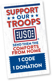 #ComfortsFromHome project from @MarieCallenders donates 50 cents for every code entered to the USO2GO program #sponsored| www.settingforfour.com