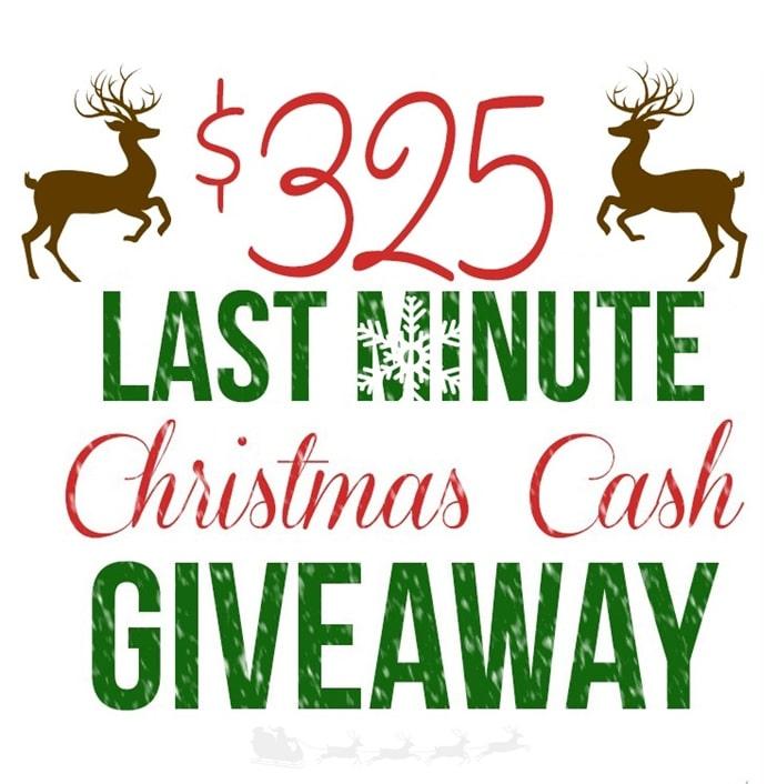 $325 Cash Giveaway!