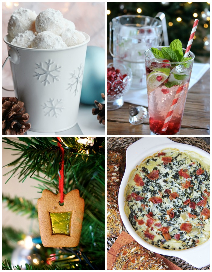 See these 4 yummy Christmas recipes to celebrate the holidays! www.settingforfour.com