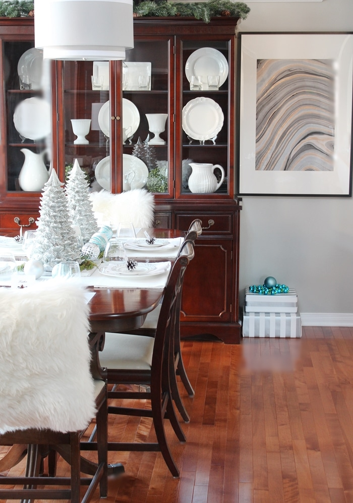 Welcome To My Christmas Home Tour! Iu0027ve Decorated My Home With Winter  Woodland