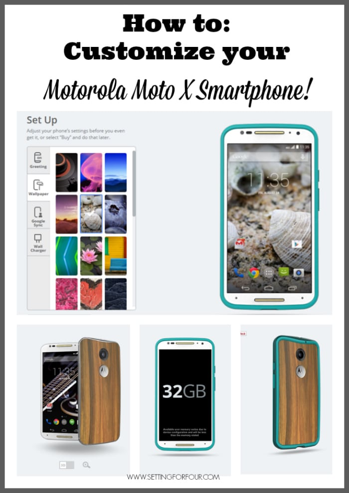 How to Customize your Moto X Motorola Smartphone - helpful tech tips! www.settingforfour.com