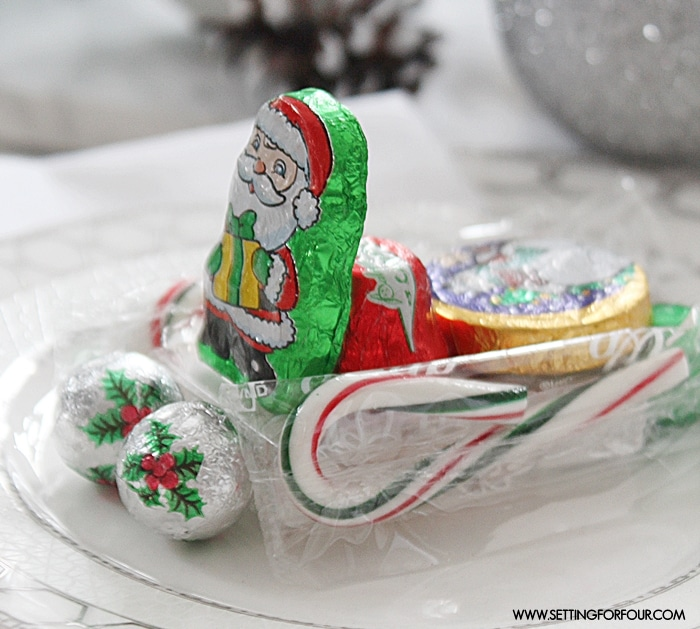 Fun Christmas Table Decorations: Edible DIY Christmas Table Decorations