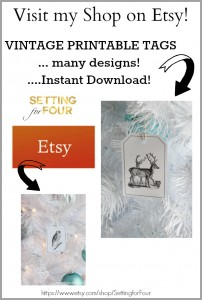 See my Etsy shop - lots of fun printables! wwww.settingforfour.com