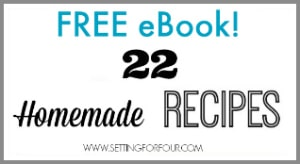 Get your FREE Holiday Recipe Ebook filled with delicious Christmas Recipes!