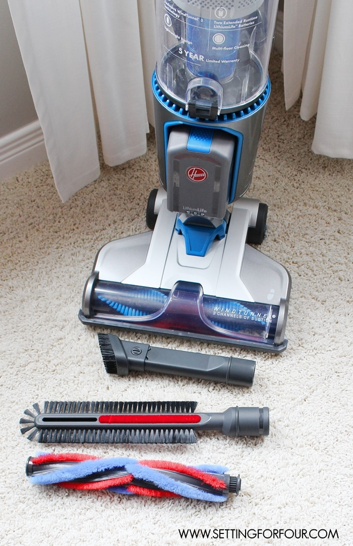 Home Cleaning With Hoover Air Cordless Vacuum Setting