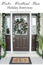 Christmas Entryway Decor Ideas