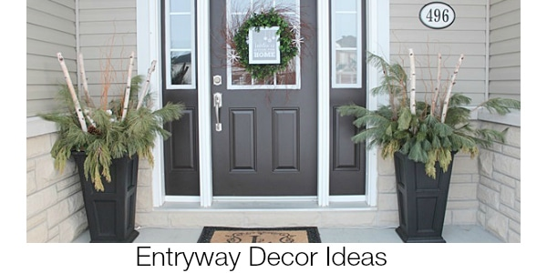 Entryway Decor Ideas www.settingforfour.com