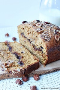 Make this yummy Hazelnut & Nutella Pumpkin Bread Recipe with crunchy hazelnuts with creamy Nutella filling! This nutty Pumpkin bread is an easy recipe using canned pumpkin is perfect for breakfast, a snack or dessert!