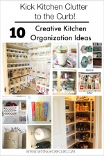10 Budget Friendly & Creative Kitchen Organization Ideas