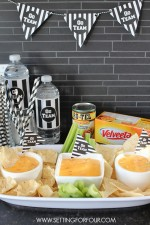 Yummy Queso Dip and Football Party Ideas!