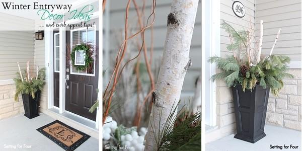Winter Entryway Decor Tips.