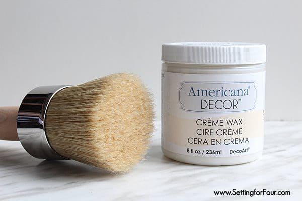 Americana Decor cream wax