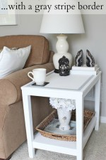 DIY Chalk Paint Table tutorial