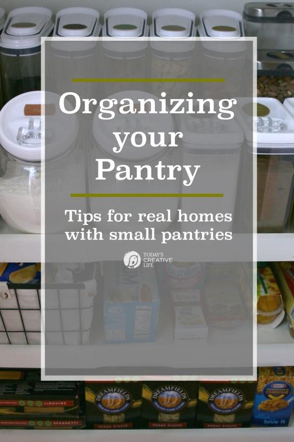 Organizing Your Pantry