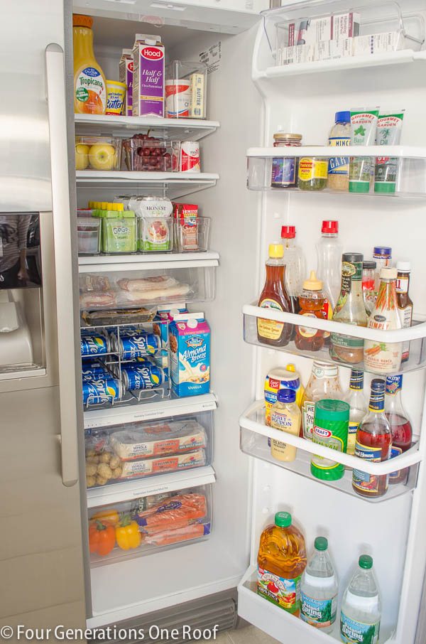 Fabulous refrigerator organization ideas