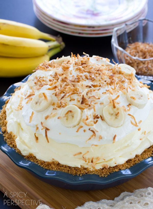 Fluffy Delicious Banana Cream Pie Recipe