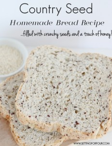 Country Seed Homemade Bread