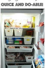Five Easy Freezer Organizing Ideas