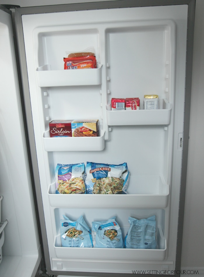 5 of my best quick and do-able freezer organizing ideas to simplify your life and meal prep!