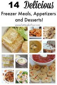 14 Freezer meal ideas