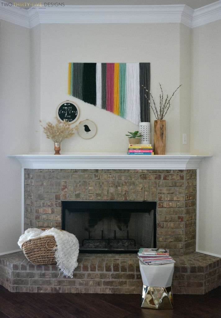 13 Stylish Spring Mantel Decorating Ideas