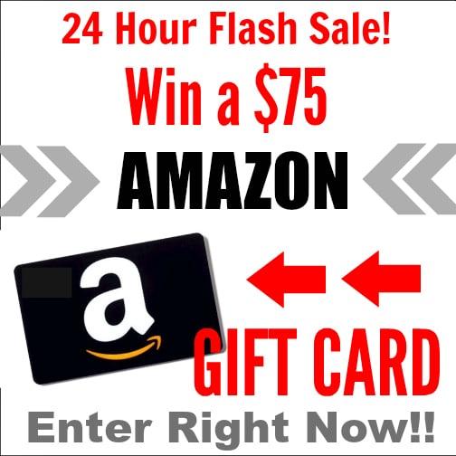 Win a $75 Amazon Gift Card!